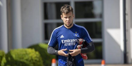 Louis Schaub muss sich vom Hamburger SV verabschieden.