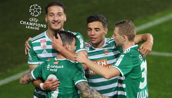 Rapid steht in der Champions-League-Quali.