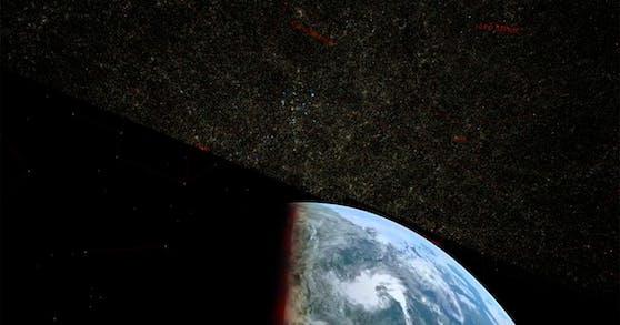 Die bisher größte 3-D-Karte des Universums.