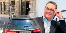 Strache parkt Mercedes in Wien auf Behindertenplatz