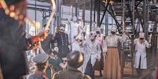 Manker lässt Schauspieler 7 Stunden Maske tragen
