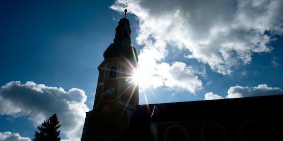 Die evangelisch-lutheranische Kirche in Hochkirch, Sachsen