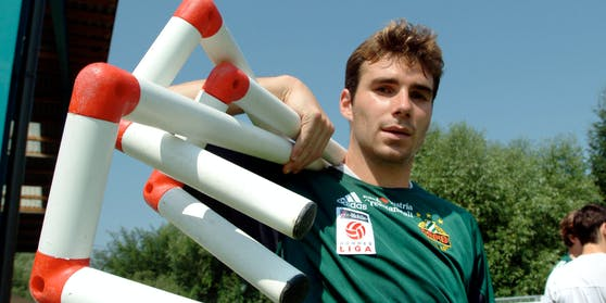 Florian Sturm 2003 im Rapid-Trikot