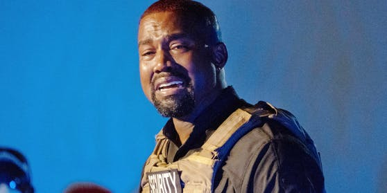 Kanye West bei seiner Rede