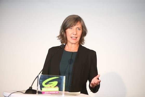 Vizebürgermeisterin Birgit Hebein folgte auch Maria Vassilakou und führt die Wiener Grünen in den Wahlkampf.