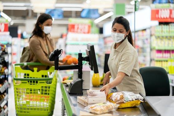 Im Supermarkt gilt derzeit die Maskenpflicht.
