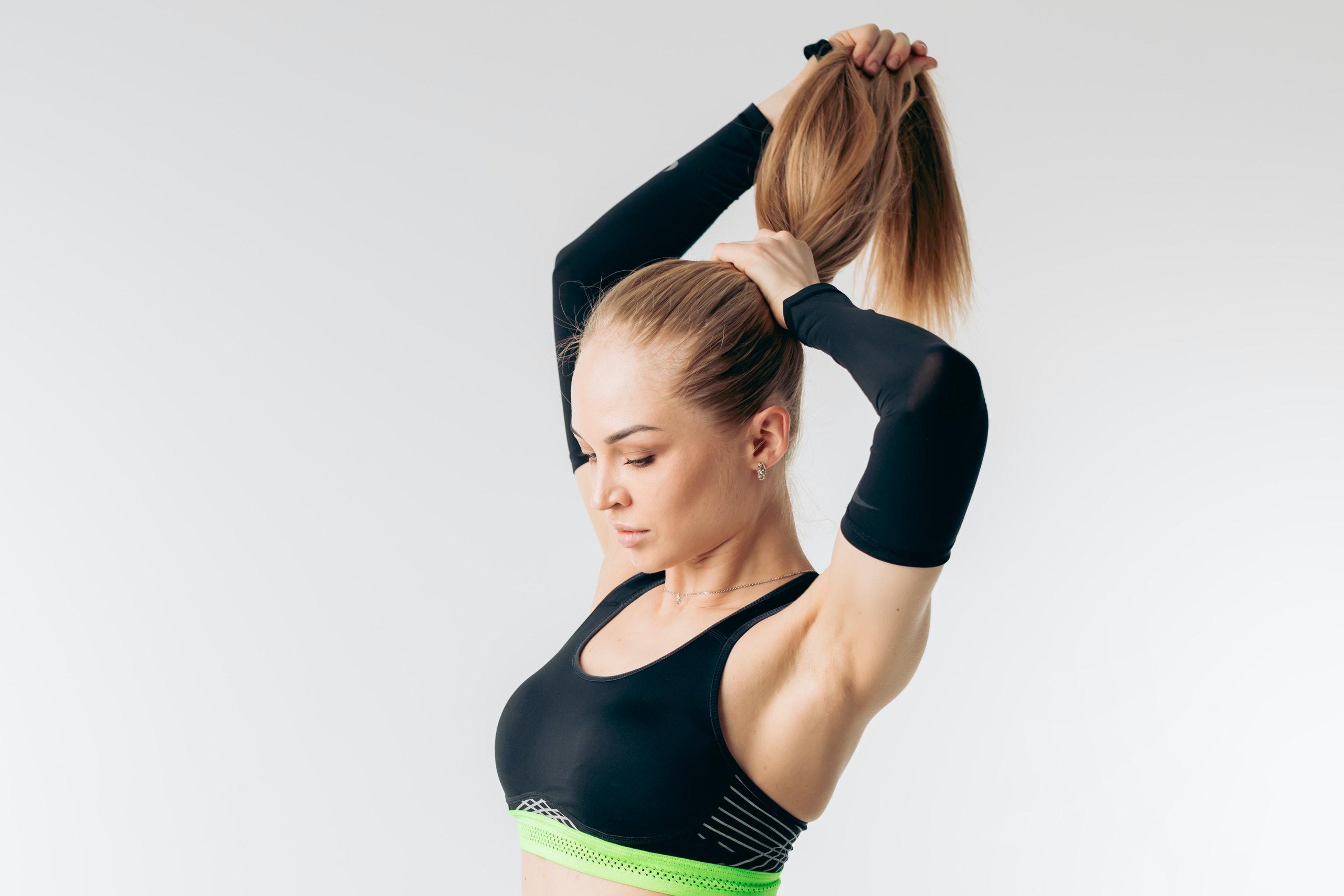 Haarewaschen nach dem Sport muss nicht sein
