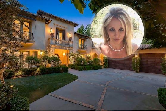 In diesem Haus lebte Britney Spears fünf Jahre lang.