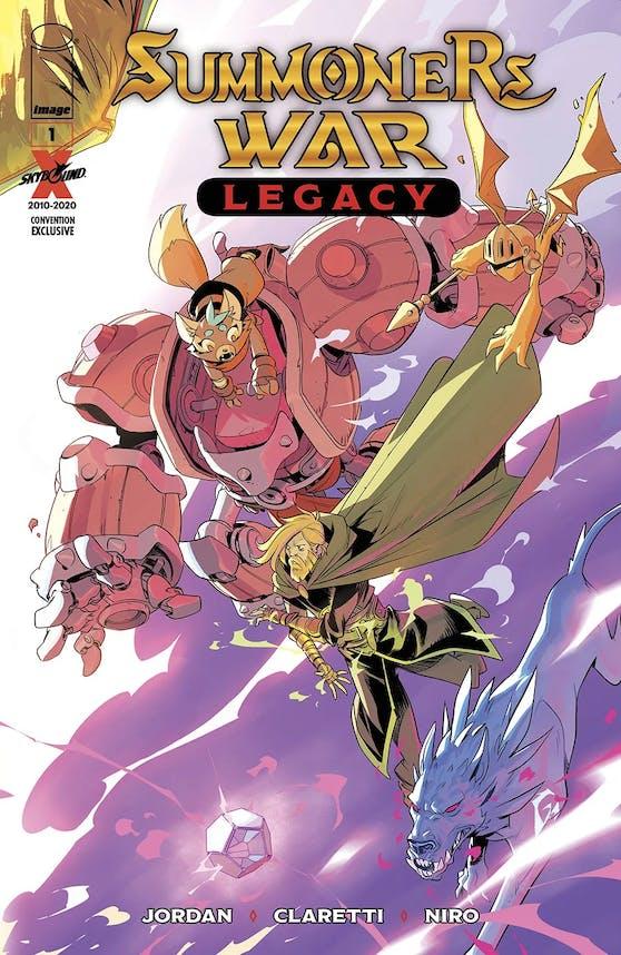 Com2uS und Skybound kündigen Comicreihe Summoners War: Legacy an.