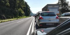 Unfall und Sprengung sorgten für Staus in Linz