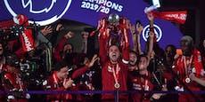 Nach 5:3-Spektakel! Liverpool hat die Liga-Trophäe