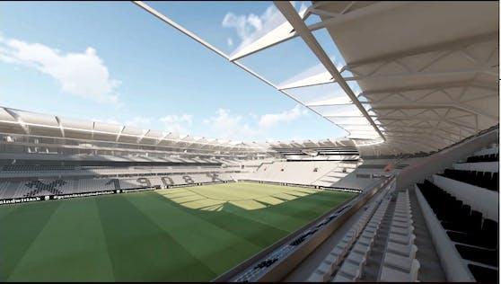 So soll die neue LASK-Arena aussehen.