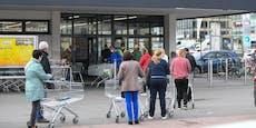 Corona-Kranke ohne Maske im Supermarkt, nun droht Haft
