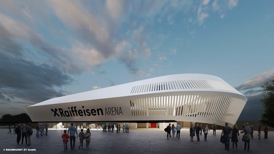 So wird die neue LASK-Arena aussehen.