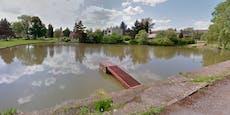 Bub und Vater wollen Opa aus Teich retten, alle sterben