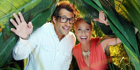 Daniel Hartwich und Sonja Zietlow beim Dschungelcamp 2016