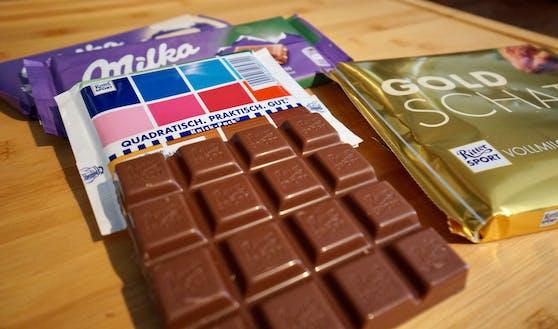 Ritter Sport ist und bleibt die einzige Schokolade in quadratischer Form.