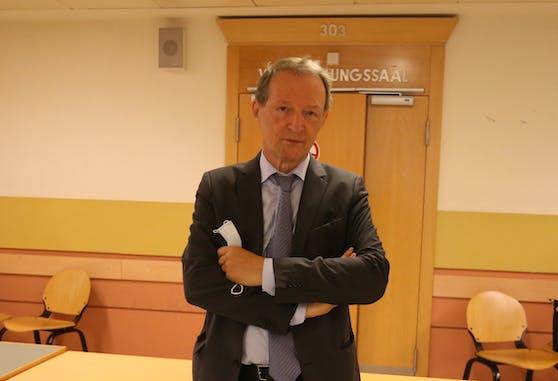 Anwalt Wolfgang Blaschitz verteidigt den 15-Jährigen.