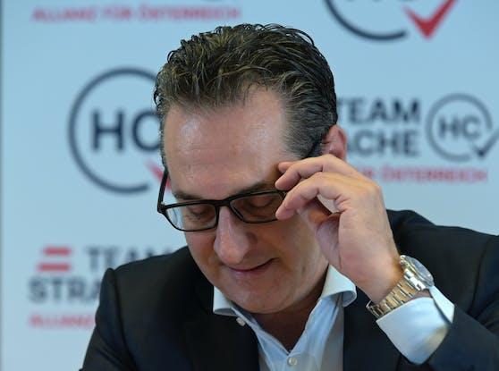 Heinz-Christian Strache: Von einem Ex-Politiker hagelt es eine massive Beleidigung.