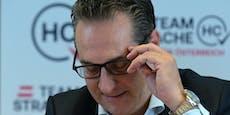 """Kaum Unterstützer, aber Strache als """"Nazi"""" beschimpft"""
