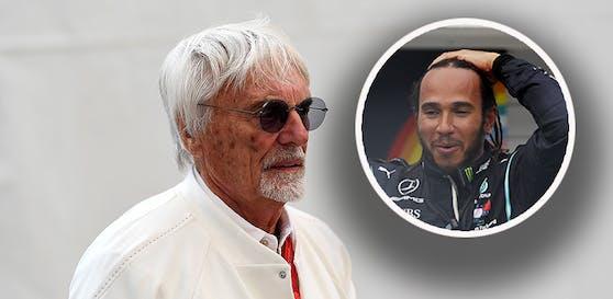 Bernie Ecclestone kontert Lewis Hamilton.