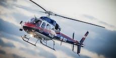 Polizei-Helikopter kreist über Wien – das ist der Grund