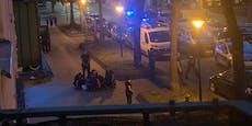 Randalierer verletzt Polizisten am Wiener Mexikoplatz