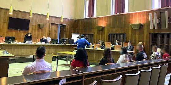 Die sieben Angeklagten zeigten sich geständig und wurden - nicht rechtskräftig - verurteilt.