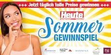 """Reisen, Griller & Co. beim """"Heute""""-Sommer-Gewinnspiel"""