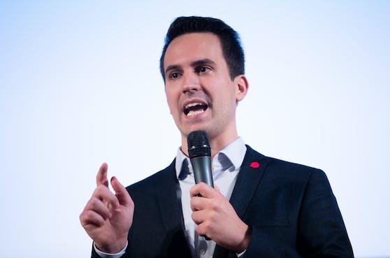 Christoph Wiederkehr kandidiert für die Neos.