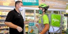 Merkur-Shops liefern jetzt – auch sonntags
