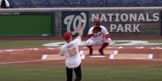 Star-Virologe Fauci versagt beim Baseball