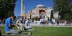 Austro-Türken wettern gegen Hagia Sophia alsMoschee