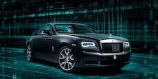 Der Rolls Royce, der ein geheimes Rätsel an Bord hat