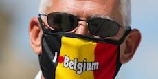 Belgien führt Maskenpflicht in der Öffentlichkeit ein