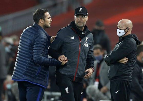 Jürgen Klopp teilt noch einmal gegen Frank Lampard aus.