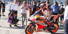 Nach Oberarm-Bruch: Marquez gibt im Qualifying auf