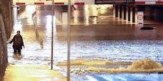 Unwetter überflutet Zagreb – Helfer stirbt bei Einsatz