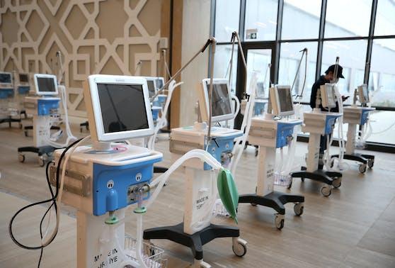 Arçelik schließt Massenproduktion von 5.000 Beatmungsgeräten ab.