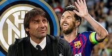 Inter-Coach Conte nimmt zu Messi-Gerücht Stellung