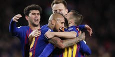 Barcelona bietet ganze Mannschaft zum Verkauf an