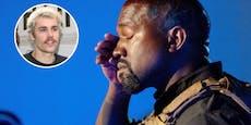 Justin Bieber besucht Kanye West nach Zusammenbruch
