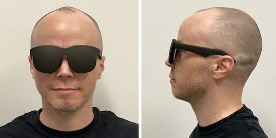 Der Prototyp für die neue VR-Brille – dank neuer Projektionstechnik superflach
