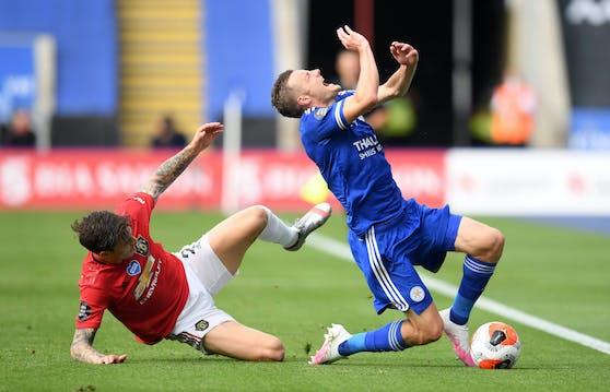 Manchester United spielt in der Champions League, Leicester City nicht
