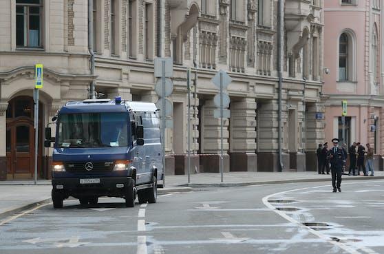 In Moskau konnte ein Anschlag verhindert werden.