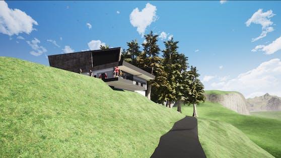 Das neue Starthaus in Kitzbühel