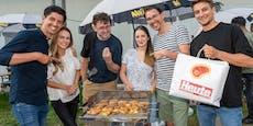 """10.000 Besucher waren heiß auf die """"Vienna BBQ Days"""""""