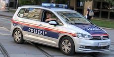 Unruhestifter stößt Polizisten gegen Hausmauer