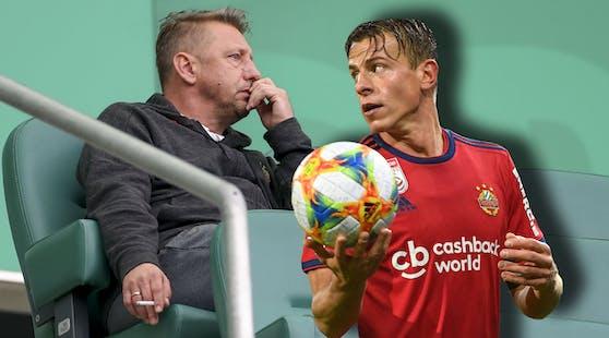 Zoran Barisic kämpft um Stefan Schwab.
