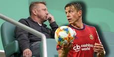"""Rapid-Sportchef Barisic: """"Müssen ohne Schwab planen"""""""
